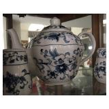Blue and White tea set