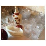 """Massive Collection of Duncan & Miller """" Sandwich"""" Glass"""