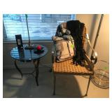 Side Chair and End Table