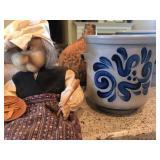 Salt Glazed Pottery, Kitchen Witch