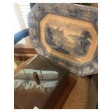 Antique Platter, TJ & J Mayer, Florentine