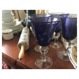Purple Wine Goblets