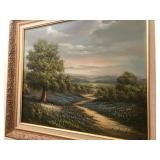 Original Oil by J Henderson