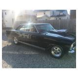 Barberton Estate Sale W/ Classic Vehicles (1966 Nova SS)