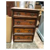 Old stack of drawers