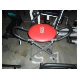 Red Exercise seat
