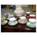 Assorted Tea Cups