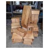 Vintage Kindergarten wood blocks