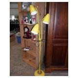 Yellow floor lamp