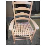 Rocking chair that needs painting