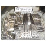 Another picture of all the flatware