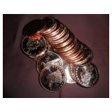 Copper rounds