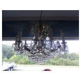 Lots of chandeliers
