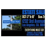 LL's Country Club Park Estate Sale