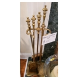 $65 Brass Fireplace Equipment