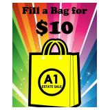 Fill a Bag for $10 Chicago Heights Sunday 9am-12noon