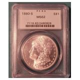 Silver coins and Sports collectibles auction