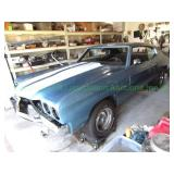 1970 Chevy Malibu SS clone and more estate auction