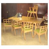 MCM Designer Table Indiana Chair Co., Jasper, IN Made