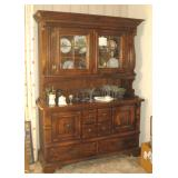 Display Cabinet & Contents