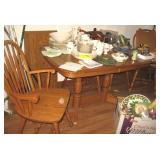 Wood Kitchen Table w/4 Chairs