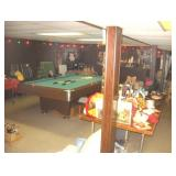 Party Room Basement Items