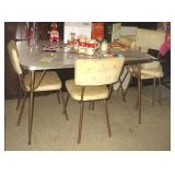 Retro Kitchen Table & Chairs