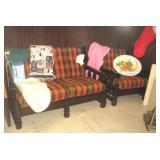 Entertainment Loveseat, Chair