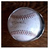 Appear Lou Gehrig Signature Below Joe Sewell