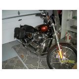 2009 Harley-Davidson Sportster Touring Bike