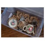 Tea Pot, Plates, & Items