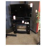 LG Flat Screen TV, Electronics, & Stand