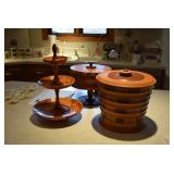 Wooden Baskets and Serving Platters