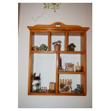 Wooden Decorative Shelf, Home Decor