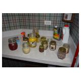 Candles, Cleaning Supplies