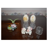 Decorative Rabbits and Eggs