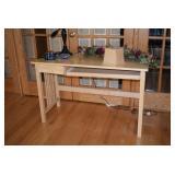Wood Desk, Home Decor