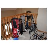 Golf Clubs and Carts