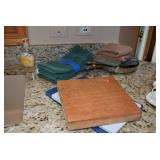 Kitchen Towels, Cutting Boards
