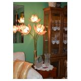 Side Table, Floral Light,  & Home Decor