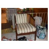 Vintage Chair & Pillow