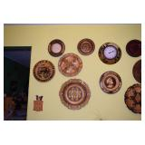 Wooden Collectible Plates