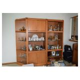 Display Cabinet, Collectibles, & Decor