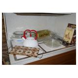 Tea Kettle, Casserole Dishes, Cookbooks