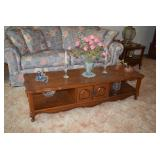 Vintage Coffee Table & Home Decor