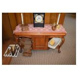 Vintage Coffee Table & Collectible Items