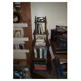 Books & Vintage Shelving Unit