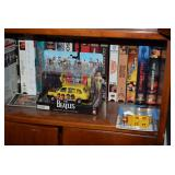 The Beatles Album Cover Die Cast Collectible, VHS Tapes