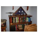 Display Cabinet & Books