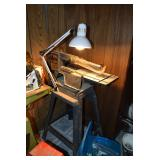 """Mounted Lamp and 18"""" Scroll Saw"""